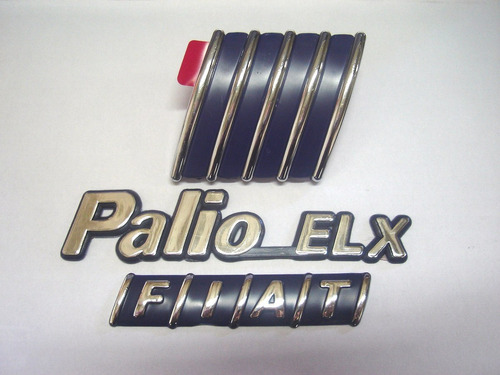 kit emblema palio elx + mala + capo 98/01 - bre