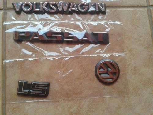 kit  emblema vw volkswagen passat ls 84 85 86 87 88