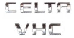 kit emblemas celta vhc a partir de 2006+ brinde