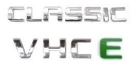 kit emblemas classic vhce a partir de 2006+ brinde