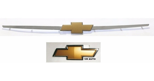 kit emblemas gravata grade e mala corsa classic + brinde 11/
