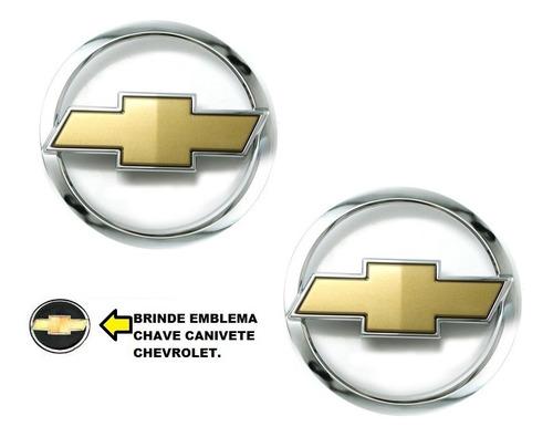 kit emblemas gravata grade e mala corsa hatch  + brinde