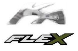 kit emblemas ka flex brinde emblema chave canivete ford