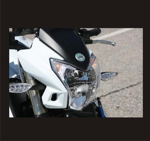 kit emblemas para convertir su moto rk6 en benelli