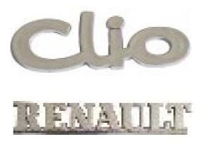 kit emblemas renault clio