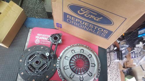 kit embrague original ford focus 2.0 + actuador hidraulico