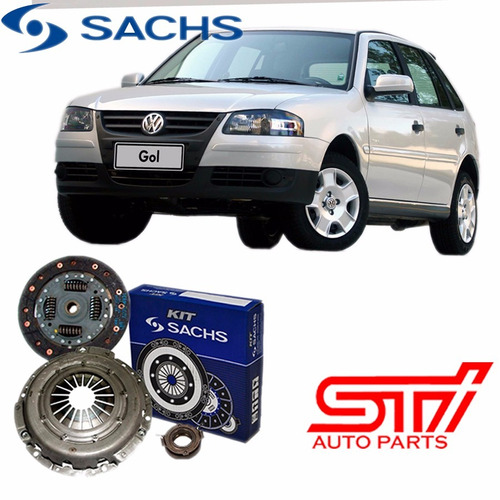 kit embreagem 6480 sachs gol g4 1.0 16v 2006-2008 original