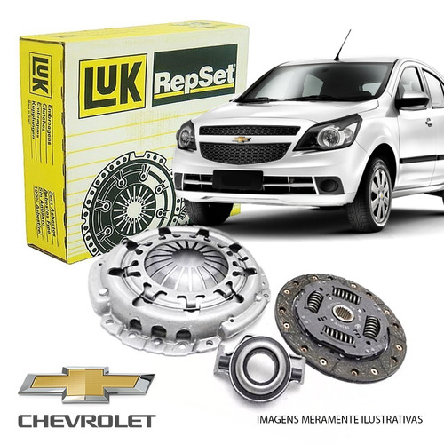kit embreagem chevrolet gm carro luk gm agile celta corsa