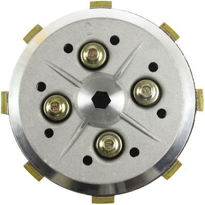 kit embreagem cobreq cubo platô disco cg 125 titan fan 00/08