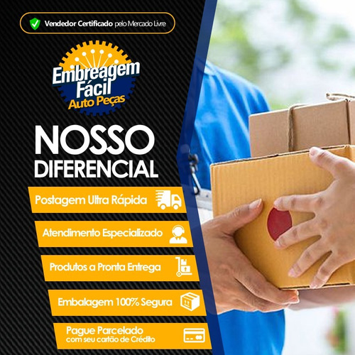kit embreagem ford transit 2.4 2009 2010 2011 2012 115cv