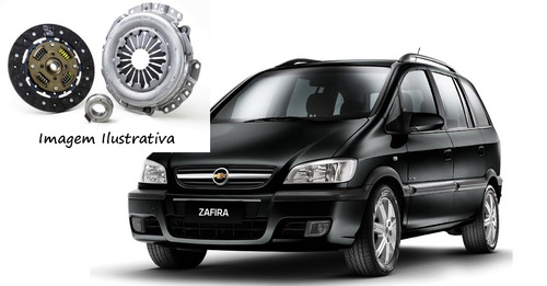 kit embreagem meriva / zafira 1.8/2.0 8/16v rec