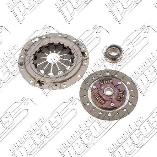 kit embreagem peugeot 206 1.6 8v 99/07 motor tu5jp nfz