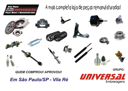 kit embreagem remanu fiesta 1.0 1.6 supercharger 02/ c/atuad