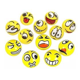 Kit Emotion Massagem 36 Emoji Bola Bolinha