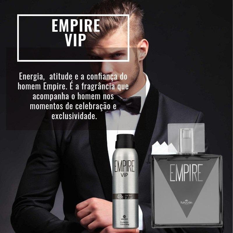 Kit Empire Vip + Desodorante! Desconto De 30%