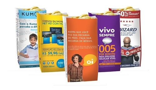 kit empreendedor - publicidade em saco de pão