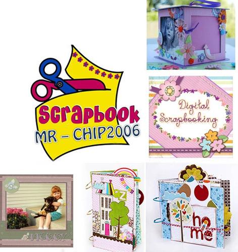 kit empresarial scrabook álbum  recuerdos tarjetas creativas