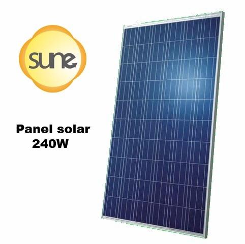 kit energía solar 2400w sune inyección