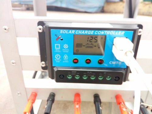 kit energía solar hogar y finca usb panel batería regulador