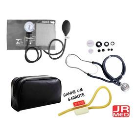 Kit Enfermagem Aparelho De Pressão+esteto Rappaport Premium