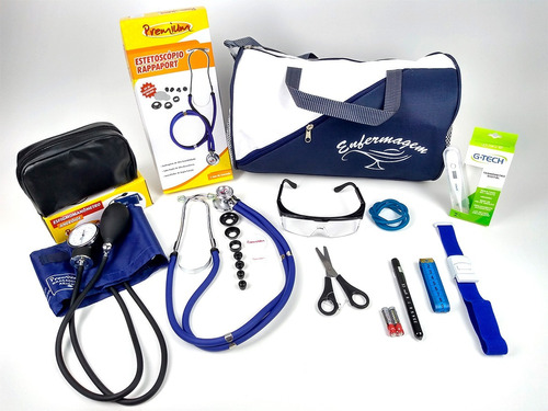 kit enfermagem c/ nota e garantia - oferta limitada