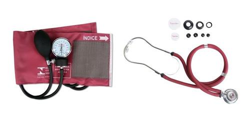 kit enfermagem medidor de pressão c/ nota - top