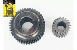 kit engrenagem e  pinhão serra marmore makita 4100nh