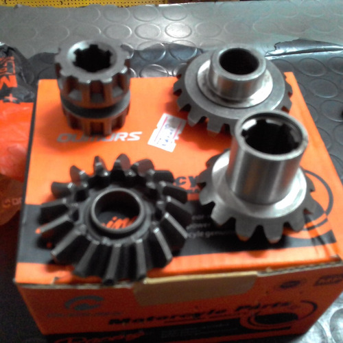 kit engrenagem para caixa reversora triciclo cargo promoçao