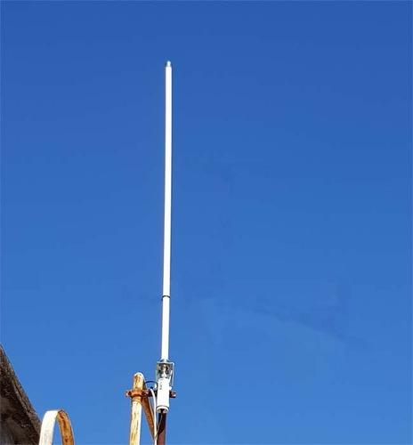 kit enlace wifi alfa 2.4 san luis+router + 15 m cable
