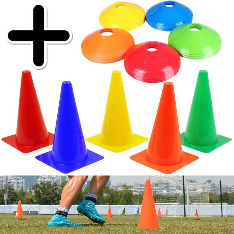 6d6735f346d75 kit entrenamiento 12 conos de futbol 18cm + 12 conos tortuga. Cargando zoom.
