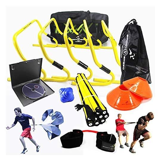 5903a3891edd6 Kit Entrenamiento Agilidad Futbol Set Paquete Porterias Para ...