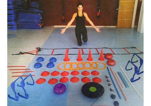 kit entrenamiento funcional fitness gimnasia aerobics 51uni.