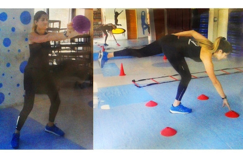 kit entrenamiento funcional fitness gimnasia aerobics 51unid
