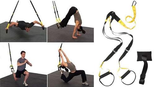 kit entrenamiento suspension pro trx