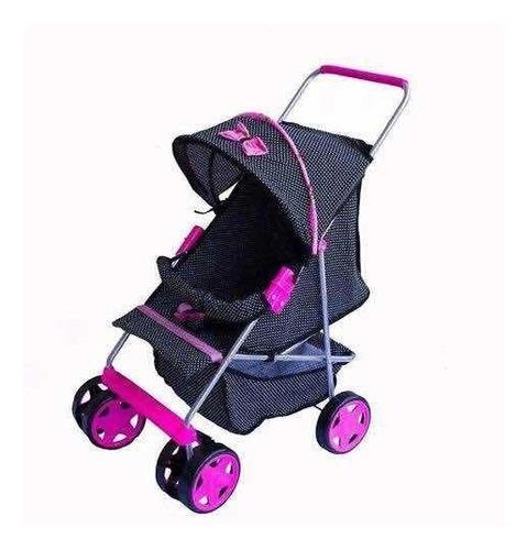 kit enxoval completo - carrinho + bolsa maternidade + roupa