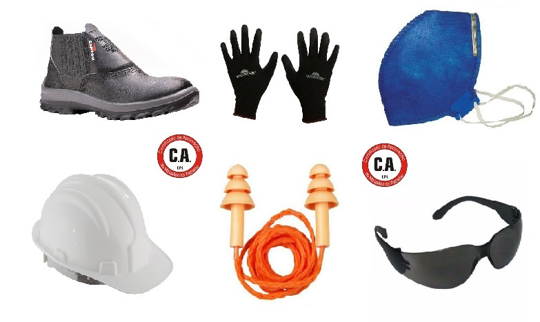 a09f53cf64970 Kit Epi Segurança Individual Completo Profissional Ca - R  69