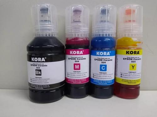 kit epson compatível t504 504 todas as cores