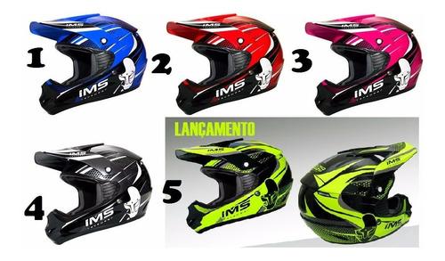 kit equipamentos ims completo motocross trilha enduro combo2