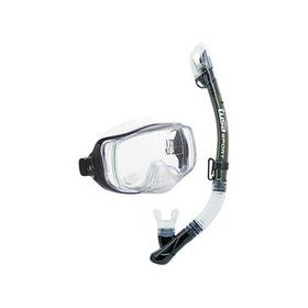 Kit Equipo Máscara Y Snorkel Profesional Uc-3325 Tusa