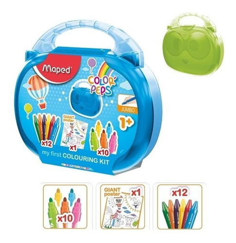 kit escolar maletin primera edad