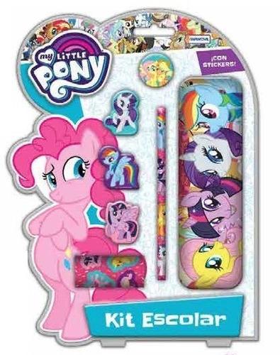 kit escolar my little pony pata's games & toys