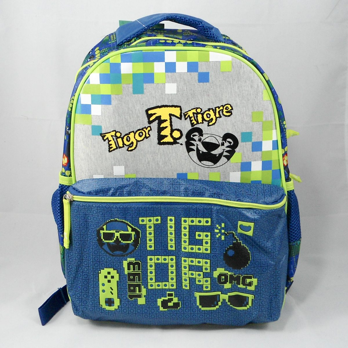 4351c2e1bd kit escolar tigor t tigre 2018 mochila + estojo + garrafinha. Carregando  zoom.