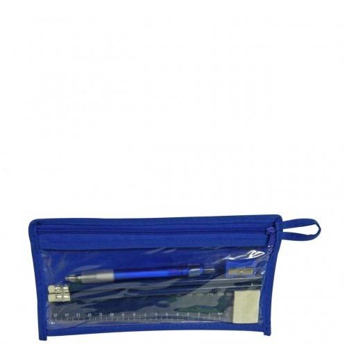 kit  escolar  tipo caja en madera incluye colores borrador