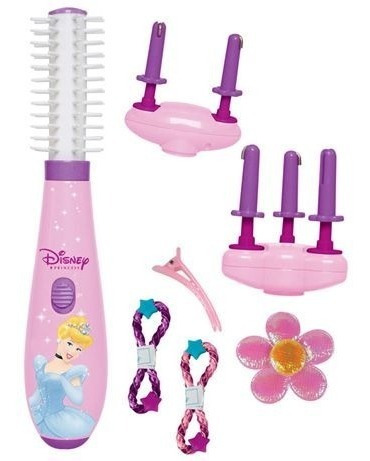 kit escova encantada das princesas disney 3007