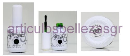 kit esmaltado permanente + lampara uv, 2 esmaltes, removedor