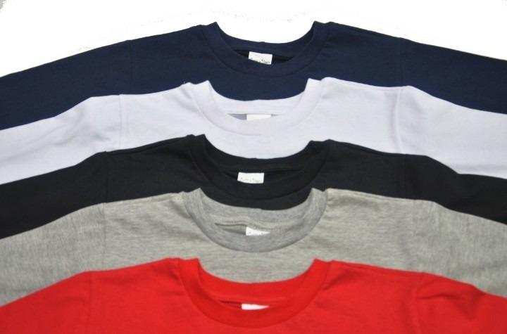 74f1f806fc Kit Especial 5 Calças De Moletom E 5 Camisetas Manga Longa - R  179 ...