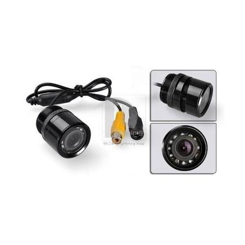 kit espelho retrovisor interno monitor + câmera de ré infra