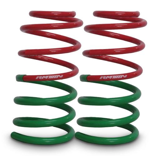 kit espirales traseros rm progresivos chevrolet spark 1.0