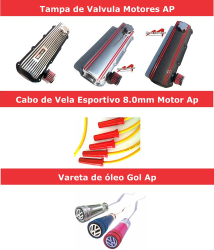 kit esportivo performance p motores ap mi 8v 1.6/1.8/2.0