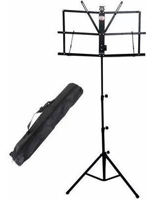 kit estante de partitura+pedestal microfone + suporte violão